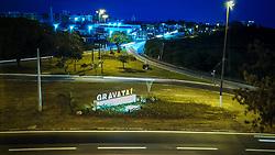 Foto aérea da entradal de Gravataí. Foto: Jefferson Bernardes/ Agência Preview