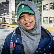 NLD/Hilversum//20170321 - Rappers Achter De Tralies, Ronnie Flex