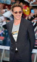 OIC - ENTSIMAGES.COM - Robert Downey Jr at The Avengers: Age of Ultron - European Film Premiere at Vue Westfield, Westfield Shopping Centre in London, England. 21st April 2015.          Photo Ents Images/OIC 0203 174 1069