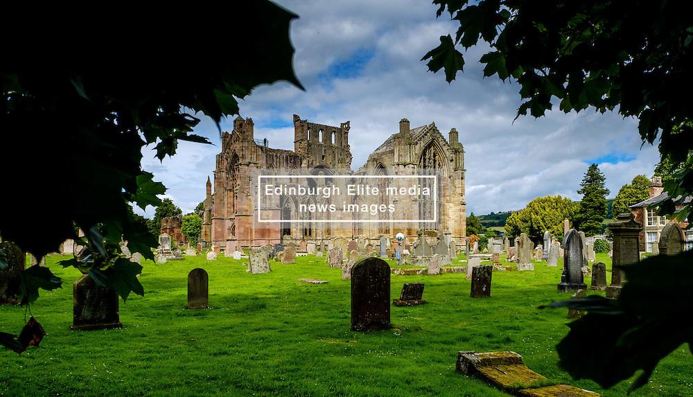 Melrose Abbey, Melrose, Scottish Borders<br /> <br /> (c) Andrew Wilson   Edinburgh Elite media