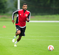 Bristol City's Liam Fontaine - Photo mandatory by-line: Dougie Allward/JMP - Tel: Mobile: 07966 386802 28/06/2013 - SPORT - FOOTBALL - Bristol -  Bristol City - Pre Season Training - Npower League One