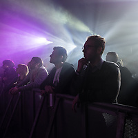 Music lovers enjoying Radiophonic Workshop at Nation as part of Sound City in Liverpool, 3rd May, 2014.
