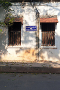 A street sign in French and Tamil on the Rue Romain Rolland, Pondicherry, India. Pondicherry now Puducherry is a Union Territory of India and was a French territory until 1954 legally on 16 August 1962. The French Quarter of the town retains a strong French influence in terms of architecture and culture.