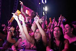 Público do Capital Inicial durante o show no Planeta Atlântida 2012. FOTO: Jefferson Bernardes/Preview.com
