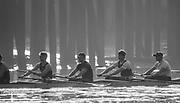 Putney, London,  Tideway Week, Championship Course. River Thames,  Oxford UBC. [R-L]. 4: Joshua Bugaski, 5: Olivier Siegelaar, 6: Michael DiSanto, 7: James Cook.Tuesday  28/03/2017<br /> [Mandatory Credit; Credit: Peter Spurrier/Intersport Images.com ]