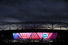West Ham v Brighton and Hove Albion, 20 Oct 2017