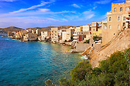 Bay and buildings of Ermoupolis, Syros [ ????? ] , Greek Cyclades Islands