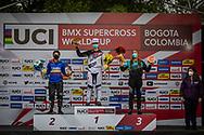 2021 UCI BMXSX World Cup<br /> Round 4 at Bogota (Colombia)<br /> Main<br /> ^wu#611 BURFORD, Thalya (SUI, WU) Team_CH, Pro Section<br /> ^wu#607 RESTREPO RESTREPO, Maria Camila (COL, WU) <br /> ^wu#601 CADAVID IDARRAGA, Ana Sofia (COL, WU)
