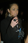ABI CARVER, Wallpaper Design Awards. Old Post Sorting Office. New Oxford St. London. 9 January 2008. -DO NOT ARCHIVE-© Copyright Photograph by Dafydd Jones. 248 Clapham Rd. London SW9 0PZ. Tel 0207 820 0771. www.dafjones.com.