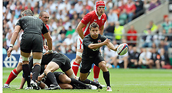 Photo © SPORTZPICS / SECONDS LEFT IMAGES 2011 - Rugby Union - Investic - World Cup warm up game - England V Wales - 06/08/11 - England's Danny Care delivers a pass - at Twickenham Stadium UK - All rights reserved
