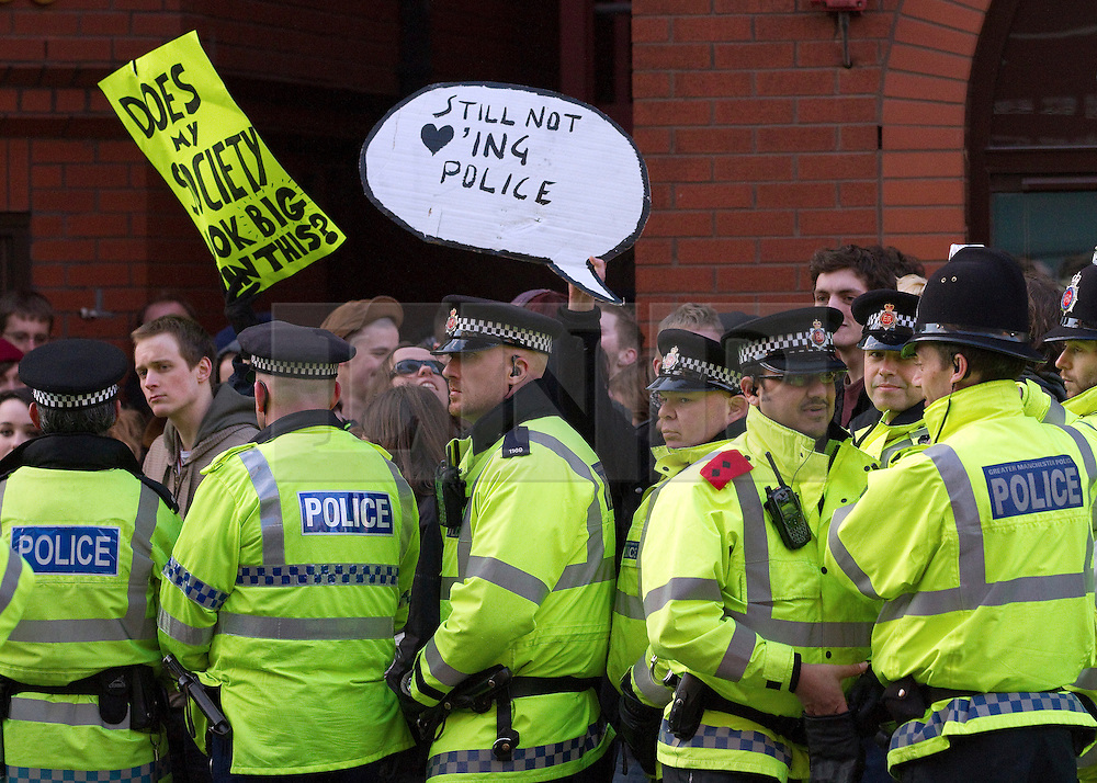 © under license to London News Pictures. Picture dated 29/01/2011. The government is planning to cut its funding for the police by 20% by 2015 it announced today (02/03/11). Picture credit should read Joel Goodman/LNP
