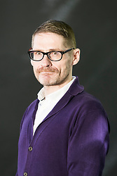 """Kevin MacNeil appearing at the Edinburgh International Book Festival<br /> <br /> Kevin MacNeil is a Scottish novelist, poet and playwright born and raised in the Outer Hebrides. His latest novel, """"The Brilliant & Forever"""", was published by Polygon in March 2016."""