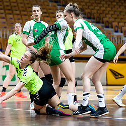 20210502: SLO, Hanball - National Youth League 2020/21, RK Olimpija vs ZRK Krka Novo Mesto
