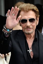 File photo : Johnny Hallyday attending the Christian Dior Haute Couture Fall - Winter 2016/2017 show as part of Paris Fashion Week on July 04, 2016 in Paris, France. France's biggest rock star Johnny Hallyday has died from lung cancer, his wife says. He was 74. The singer - real name Jean-Philippe Smet - sold about 100 million records and starred in a number of films. Photo by Aurore Marechal/ABACAPRESS.COM