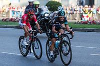Chetout, Kennaaugh, Jauregui and Bouwman during the last stage or La Vuelta of Spain in Madrid. September 10, 2016. (ALTERPHOTOS/Rodrigo Jimenez)