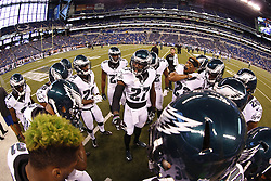 during the NFL Preseason game between The Indianapolis Colts and The Philadelphia Eagles on Saturday August 27th 2016. (Brian Garfinkel/Philadelphia Eagles)