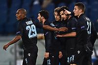Esultanza Gol Marco Parolo Lazio Goal celebration <br /> Roma 26-11-2015 Stadio Olimpico Football Calcio 2015/2016 Europa League Lazio - Dnipro Foto Andrea Staccioli / Insidefoto