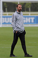 England manager Gareth Southgate during the training session for England at St George's Park National Football Centre, Burton-Upon-Trent, United Kingdom on 28 May 2019.