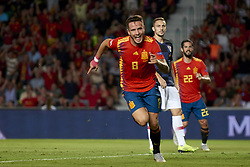 September 11, 2018 - Elche, Spain - Saul Niguez of Spain celebrates after scoring his sides first goal during the UEFA Nations League football match between Spain and Croatia at Martinez Valero Stadium in Elche, Spain on September 8, 2018. (Credit Image: © Jose Breton/NurPhoto/ZUMA Press)