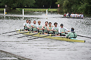Henley Royal Regatta, Henley on Thames, Oxfordshire, 3-7 July 2013.  Wednesday  09:37:21   03/07/2013  [Mandatory Credit/Intersport Images]<br /> <br /> Rowing, Henley Reach, Henley Royal Regatta.<br /> <br /> The Temple Challenge Cup<br />  Goldie Boat Club at Fawley