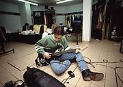 Nuno Bettencourt Backstage. Extreme 1992 Glasgow for Vox Magazine