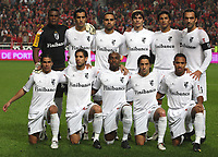 20091122:  LISBON, PORTUGAL - SL Benfica vs Guimaraes: Portuguese Cup 2009/2010. In picture: Guimaraes Team. PHOTO: Carlos Rodrigues/CITYFILES