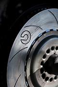 January 24-27, 2019. IMSA Weathertech Series ROLEX Daytona 24. Brembo brake detail