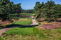 LEUSDEN  -  afslag Hole 1 ,  Golfclub de Hoge Kleij  COPYRIGHT KOEN SUYK