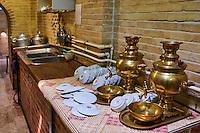 Iran, province de Zanjan, Zanjan, le bazaar, maison de thé // Iran, Zanjan province, Zanjan, the bazaar, teahouse