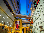 12 AUGUST 2017 - BANGKOK, THAILAND:  Activities at EmQuartier and Emporium Malls to honor Queen Sirikit on her 85th birthday. The Thai royal family is a revered institution in Thailand.       PHOTO BY JACK KURTZ
