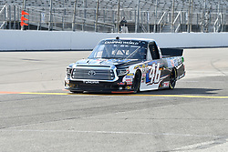 June 22, 2018 - Madison, Illinois, U.S. - MADISON, IL - JUNE 22:  Christian Eckes (46) driving a Toyota for Mobil 1 warms up before  the Camping World Truck Series - Eaton 200 on June 22, 2018, at Gateway Motorsports Park, Madison, IL.   (Photo by Keith Gillett/Icon Sportswire) (Credit Image: © Keith Gillett/Icon SMI via ZUMA Press)