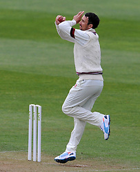 Somerset's Tom Cooper - Photo mandatory by-line: Harry Trump/JMP - Mobile: 07966 386802 - 27/04/15 - SPORT - CRICKET - LVCC Division One - County Championship - Somerset v Middlesex - Day 2 - The County Ground, Taunton, England.