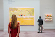 Sotheby's £250m Impressionist & Modern Art and Contemporary Art Summer Sales.  Highlights include: Monet's Water Lilies est £20-30m; a Mondrian, est £13-18m; Country Rock (Wing Mirror) by Peter Doig, est £9m; a Frances Bacon triptych of his lover George Dyer, est £15-20m; and works by Matisse, Picasso, Basquiat, Warhol and Richter. Sotheby's, New Bond Street, London.