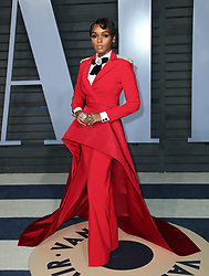 vanity fair oscar party in Hollywood, CA. 04 Mar 2018 Pictured: Janelle Monae. Photo credit: MEGA TheMegaAgency.com +1 888 505 6342