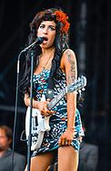 Amy Winehouse,  Hylands Park, Chelmsford, Essex, Britain - 17 August 2008.