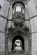 Triton tunnel, symbolizing the allegory of the Creation of the World, Pena National Palace, Sintra, Portugal. PHOTO PAULO CUNHA/4SEE