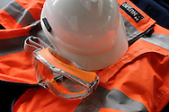 Safety clothing and helmet..For larger JPEGs and TIFF Contact EFFECTIVE WORKING IMAGE via our contact page at : www.photography4business.com