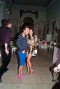 VICTORIA BECKHAM; MATTHEW WILLIAMSON Alexandra Shulman, Editor of Vogue & Phil Popham, Managing Director of Land Rover<br /> host the 40th Anniversary of Range Rover. The Orangery at Kensington Palace. London. 1 July 2010. -DO NOT ARCHIVE-© Copyright Photograph by Dafydd Jones. 248 Clapham Rd. London SW9 0PZ. Tel 0207 820 0771. www.dafjones.com.