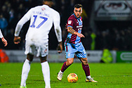 Clayton Lewis of Scunthorpe United (15) in action during the EFL Sky Bet League 1 match between Scunthorpe United and Coventry City at Glanford Park, Scunthorpe, England on 5 January 2019.