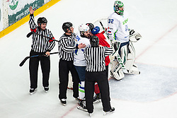REPE Jurij  (SLO) during OI pre-qualifications of Group G between Slovenia men's national ice hockey team and Lithuania men's national ice hockey team, on February 6, 2020 in Ice Arena Podmezakla, Jesenice, Slovenia. Photo by Peter Podobnik / Sportida