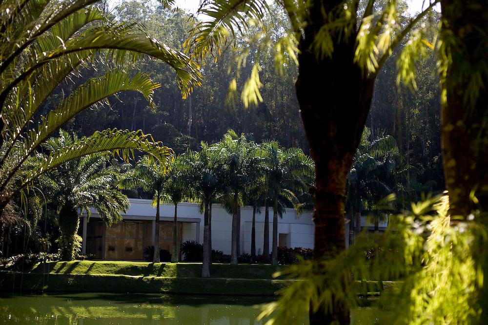 Brumadinho_MG, Brasil...Museu de Arte Contemporanea de Inhotim (CACI). Na Foto a Galeria Mata...Inhotim Contemporary Art Museum (CACI). In this photo the Mata Gallery...Foto: JOAO MARCOS ROSA /  NITRO