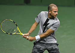 March 8, 2019 - Palm Desert, California, Usa - Tennis : BNP Paribas Open 2019 - Adrian Mannarino - France (Credit Image: © Panoramic via ZUMA Press)