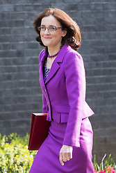 Downing Street, London, April 12th 2016. Northern Ireland Secretary Theresa Villiers arrives at the weekly cabinet meeting. ©Paul Davey<br /> FOR LICENCING CONTACT: Paul Davey +44 (0) 7966 016 296 paul@pauldaveycreative.co.uk