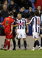 Photo: Mark Stephenson/Sportsbeat Images.<br /> West Bromwich Albion v Coventry City. Coca Cola Championship. 04/12/2007.West Broms (no3 ) Paul Robinson is send off