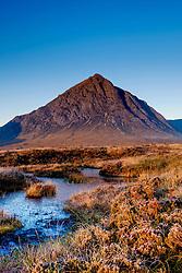 Buachaille Etive Mor at dawn, Highlands of Scotland<br /> <br /> (c) Andrew Wilson   Edinburgh Elite media