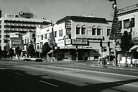 1972 Looking at NW corner of Hollywood Blvd. & Las Palmas Ave.