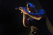 Photos of Avenged Sevenfold performing at the Pageant on November 06, 2007.