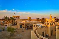 Film city traditional arabic village in the Ras Brouq resreve  near Zekreet Qatar