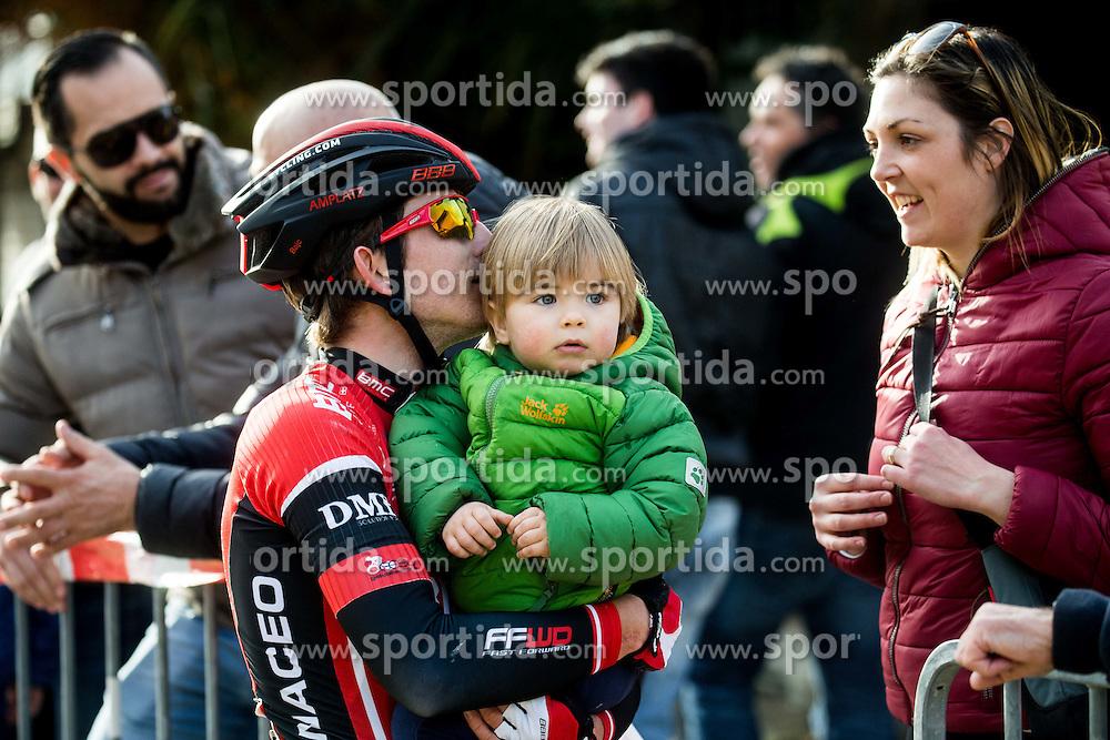 BAJC Andi (SLO) of BMC Amplatz with his family during the UCI Class 1.2 professional race 4th Grand Prix Izola, on February 26, 2017 in Izola / Isola, Slovenia. Photo by Vid Ponikvar / Sportida