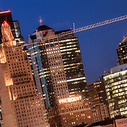 The tallest of the Kansas City Missouri Skyline on display, April 1, 2011.